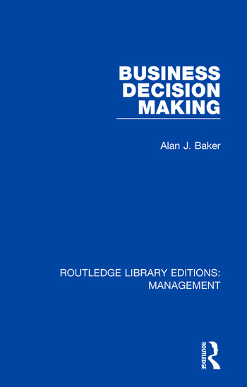 Business Decision Making book cover