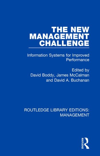 The New Management Challenge Information Systems for Improved Performance book cover