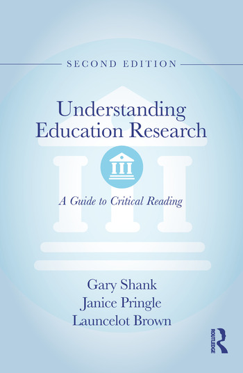 Understanding Education Research A Guide to Critical Reading book cover
