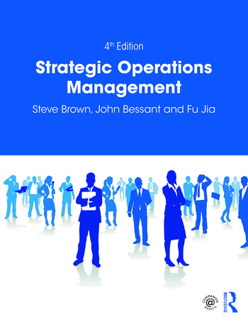 Strategic Operations Management book cover