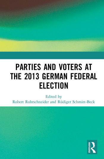 Parties and Voters at the 2013 German Federal Election book cover
