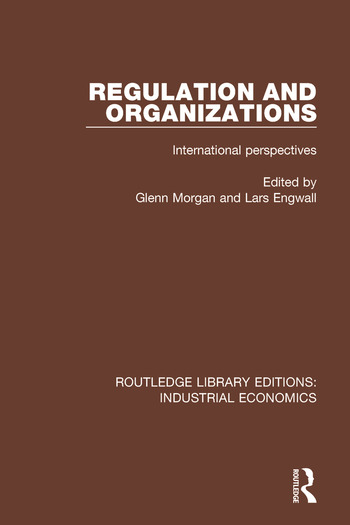 Regulation and Organizations International Perspectives book cover