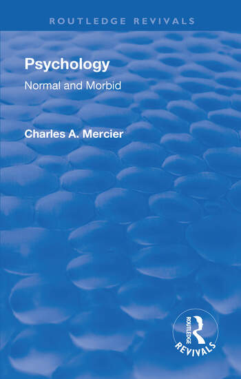 Revival: Psychology: Normal and Morbid (1901) book cover