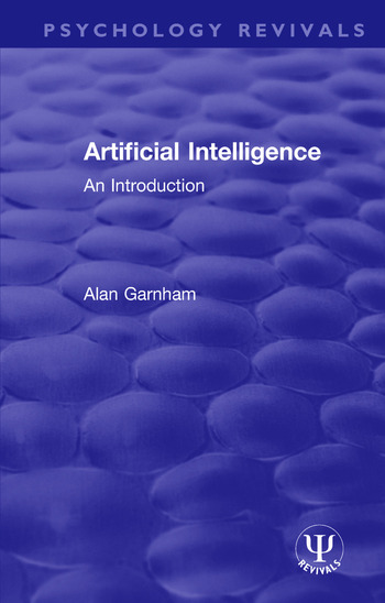 Artificial Intelligence An Introduction book cover