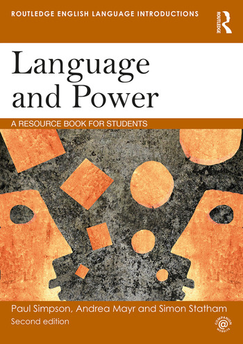 Language and Power A Resource Book for Students book cover