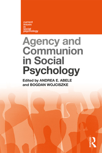 Agency and Communion in Social Psychology book cover