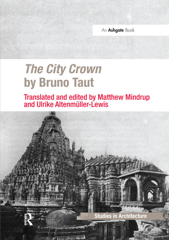 The City Crown by Bruno Taut book cover