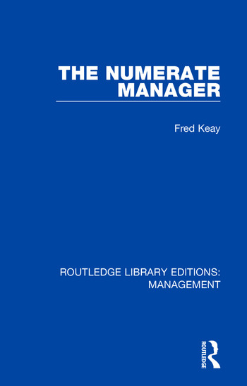 The Numerate Manager book cover