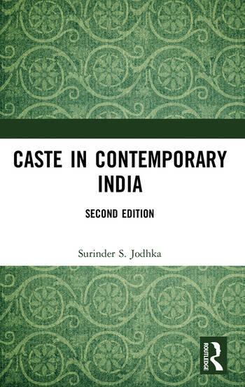 Caste in Contemporary India book cover