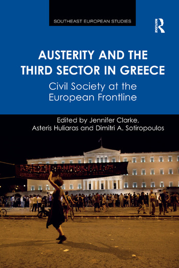 Austerity and the Third Sector in Greece Civil Society at the European Frontline book cover