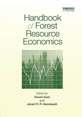 Handbook of Forest Resource Economics book cover