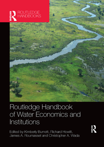 Routledge Handbook of Water Economics and Institutions book cover