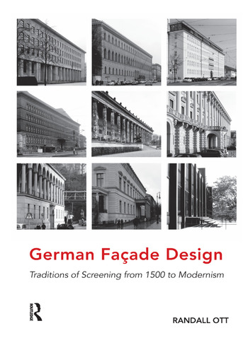 German Façade Design Traditions of Screening from 1500 to Modernism book cover
