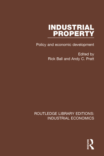 Industrial Property Policy and Economic Development book cover