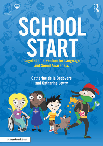 School Start Year 1 Targeted Intervention for Language and Sound Awareness book cover