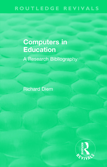 Computers in Education (1988) A Research Bibliography book cover