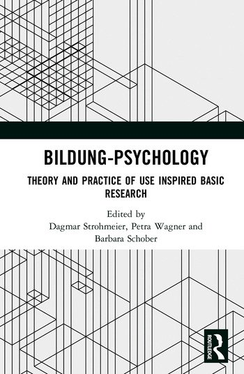 Bildung Psychology Theory and Practice of Use Inspired Basic Research book cover