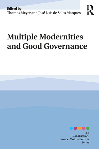 Multiple Modernities and Good Governance book cover