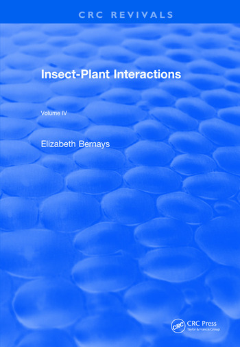 Revival: Insect-Plant Interactions (1992) Volume IV book cover