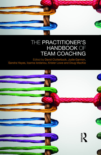 The Practitioner's Handbook of Team Coaching book cover