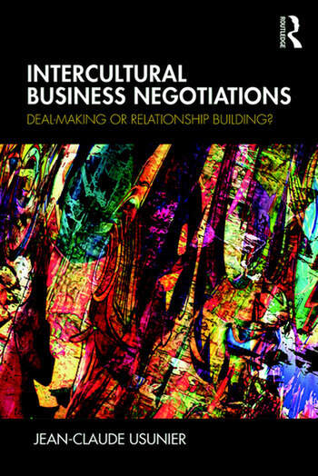 Intercultural Business Negotiations Deal-Making or Relationship Building book cover