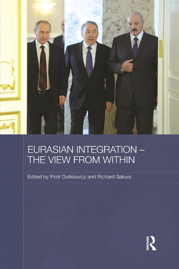 Eurasian Integration – The View from Within book cover