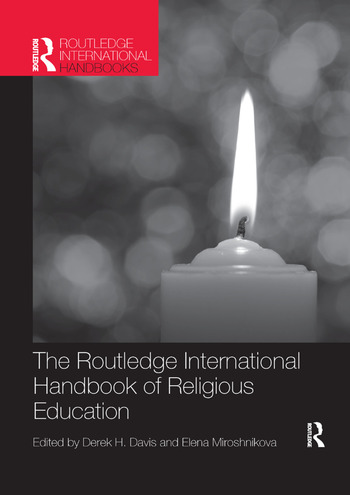 The Routledge International Handbook of Religious Education book cover
