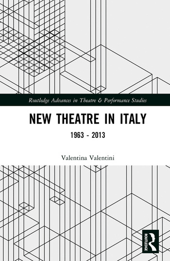 New Theatre in Italy 1963–2013 book cover