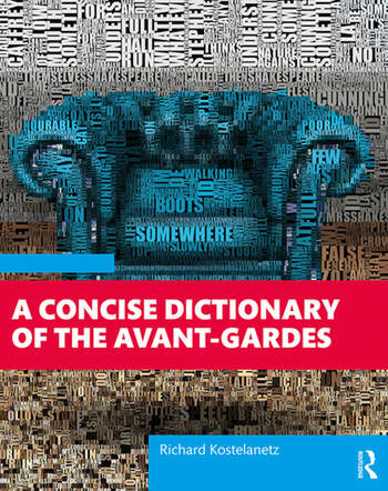 A Concise Dictionary of the Avant-Gardes book cover