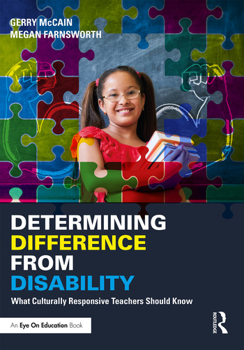 Determining Difference from Disability What Culturally Responsive Teachers Should Know book cover