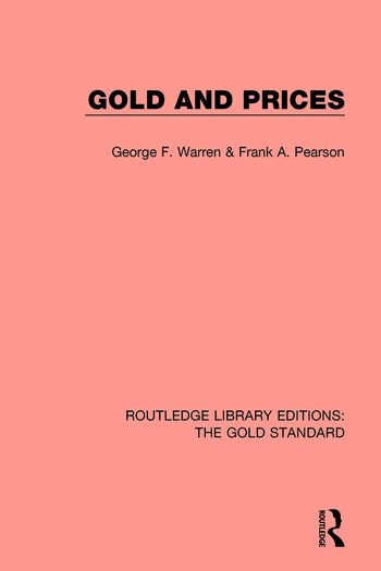 Gold and Prices book cover