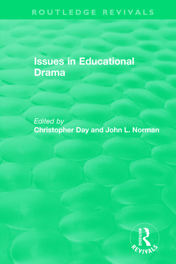 Issues in Educational Drama (1983) book cover
