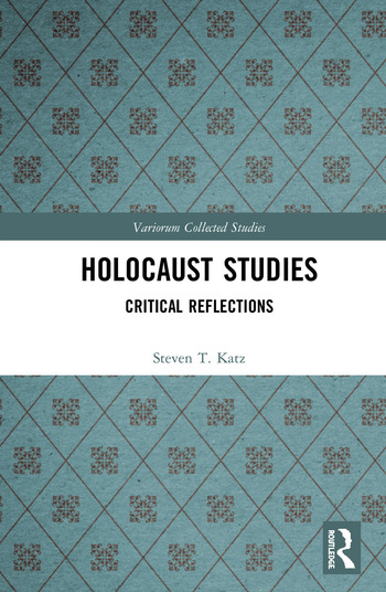 Holocaust Studies Critical Reflections book cover
