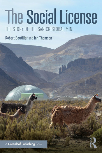 The Social License The Story of the San Cristobal Mine book cover
