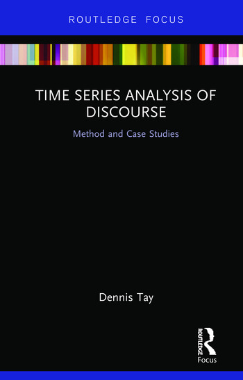 Time Series Analysis of Discourse Method and Case Studies book cover