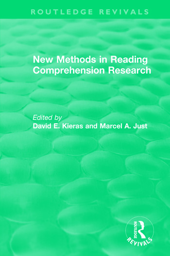 New Methods in Reading Comprehension Research book cover