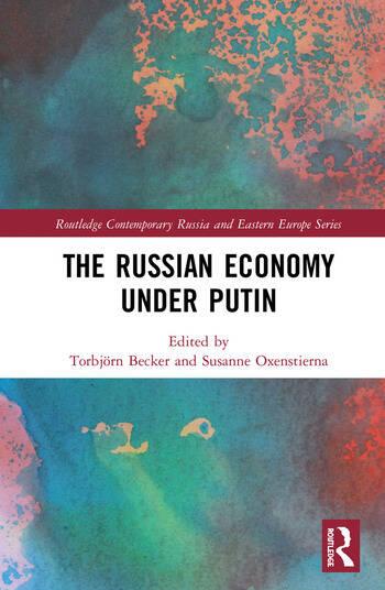 The Russian Economy under Putin book cover