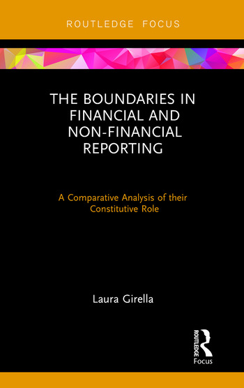 The Boundaries in Financial and Non-Financial Reporting A Comparative Analysis of their Constitutive Role book cover
