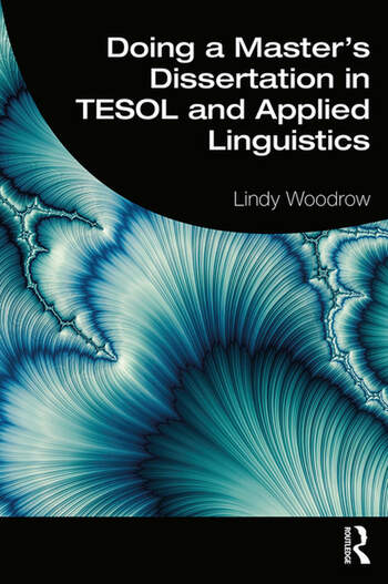 Doing a Master's Dissertation in TESOL and Applied Linguistics book cover