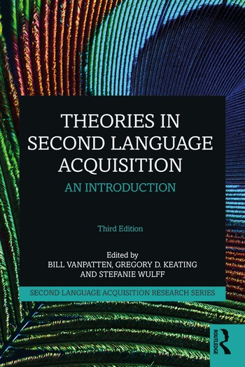 Theories in Second Language Acquisition An Introduction book cover