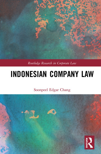 Indonesian Company Law book cover