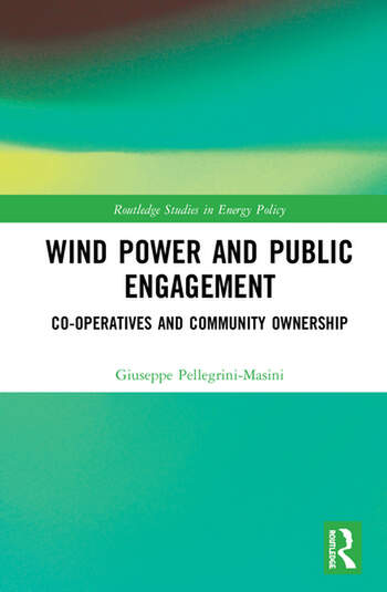 Wind Power and Public Engagement Co-operatives and Community Ownership book cover