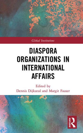 Diaspora Organizations in International Affairs book cover