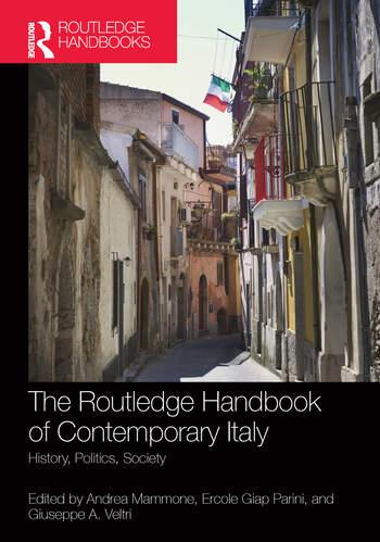 The Routledge Handbook of Contemporary Italy History, Politics, Society book cover