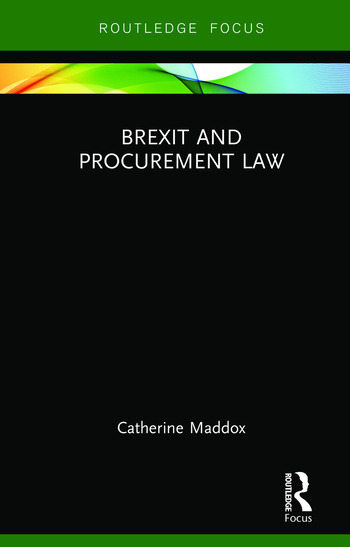 Brexit and Procurement Law book cover