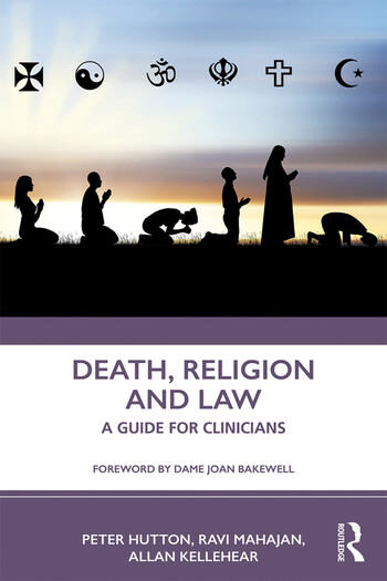 Death, Religion and Law A Guide For Clinicians book cover