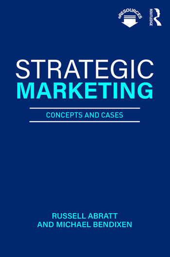 Strategic Marketing Concepts and Cases book cover