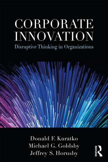Corporate Innovation Disruptive Thinking in Organizations book cover