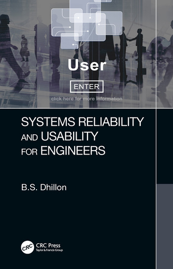 Systems Reliability and Usability for Engineers book cover