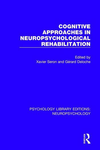Cognitive Approaches in Neuropsychological Rehabilitation book cover